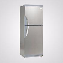 Heladera Con Freezer Gafa Hgf 376a Simil Inox 321lts Oferta