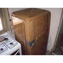 Exelente Heladera Antigua Sin Freezer 1 Sola Mano Funciona P