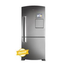Heladera Con Freezer Whirlpool Wrv80x1 6° Sentido Inox 586 L