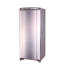 Freezer Vertical Whirlpool Wvu27x1 260 Lts Acero Unicos