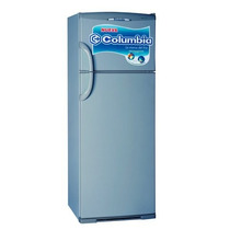 Heladera Columbia Htp 2334 Con Freezer 317 Lts Plata