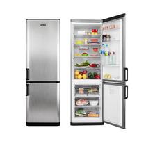 Heladera Con Freezer Atma Hcc4223 Combi Inox 335l Clase A
