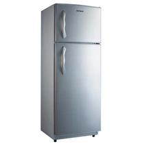 Heladera Patrick Hpk-135cdml Con Freezer Metalica.