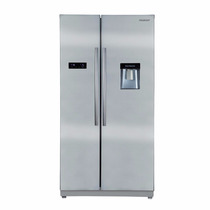 Heladera No Frost Peabody Side By Side Pe-hs55d Inox Digital