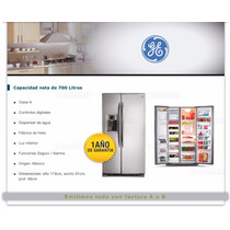 Heladera General Electric Side By Side Pkps5 Doble Puerta