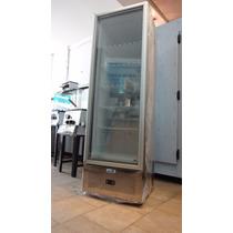Freezer Vertical Exhibidor Puerta Triple Vidrio 375 Litros