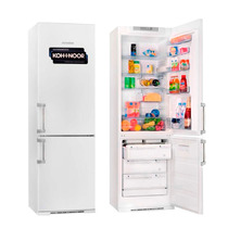 Heladera Con Freezer Kohinoor 4094 Blanca 2 Motores 364 L