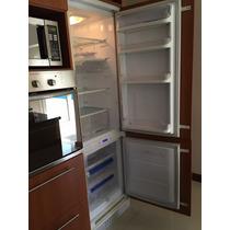 Heladera Ariston Con Freezer Panelable Integrable