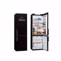 Heladera Kohinoor Freezer Abajo 367 L Color Negro Kgb 4094/6
