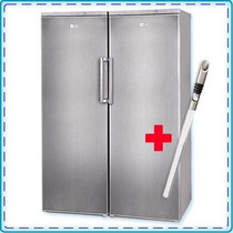Heladera Y Freezer Vondom 580 L Inox Side By Side Cuotasfree