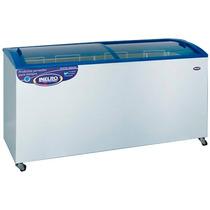 Freezer 520lts Tapa De Vidrio Y Plano Inclinado Inelro