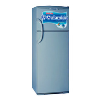 Heladera Columbia Htp-2334 Con Freezer Plata 317lts Garantía