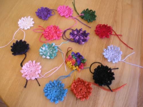 Como Hacer Flores De Lana Imagui - Como-hacer-una-flor-de-lana