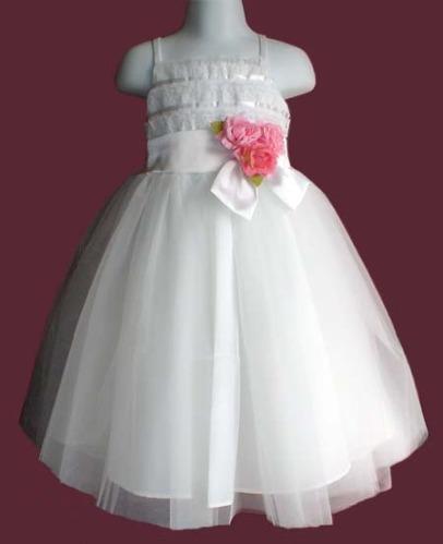 Hermoso Y Fino Vestido De Fiesta Para Niña Talla 6 Años - Vestidos ...