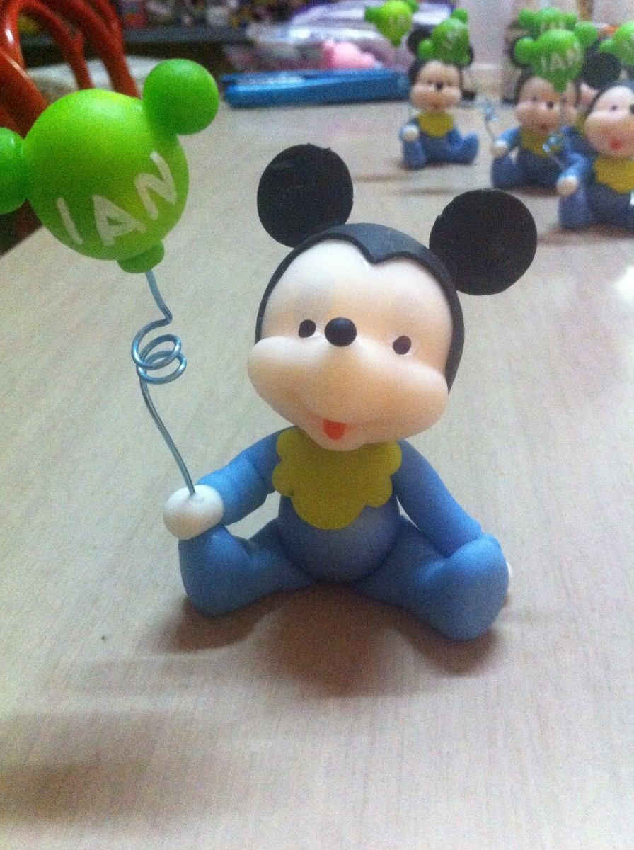 Souvenirs Mickey Bebe Porcelana Fria - Souvenirs para tu ...