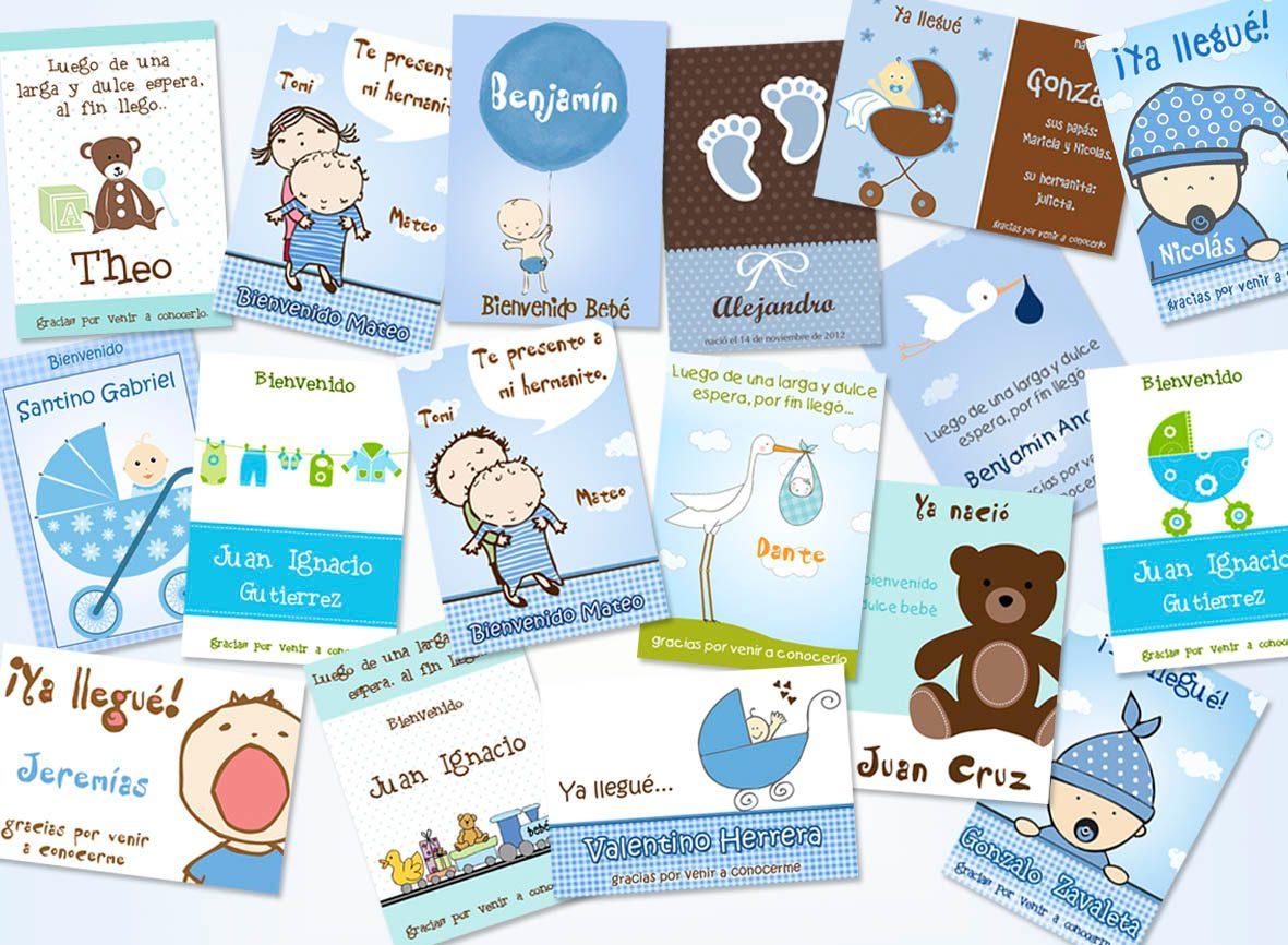hermosos souvenirs de nacimiento varon nena imanes personali
