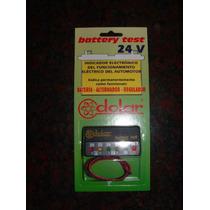 Analizador Bateria Tablero 24 V, Tester, Amperimetro Dolar