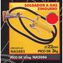 Soldador A Gas Zinguero Pico De 3kg Black Jack Na5085
