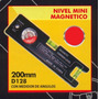Nivel Mini Magnetico 200mm Black Jack D128 #
