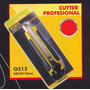 Cutter Profesional 18mm Black Jack O215