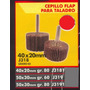 Cepillo Flap P/taladro 50x30mm Gr80 Black Jack J3191 #