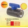 Valvula Esférica Bicapa 1/2pulg Power Na5134 #