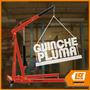 Guinche Pluma Plegable Hidraulico 2 Ton Lusqtoff
