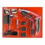 Atornillador Inalambrico 36 Piezas 4,8 V Black + Decker