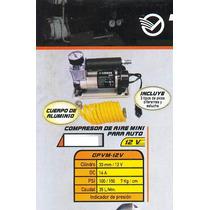 Compresor De Aire Mini Versa Para Auto 12 V Gpvm-12v#