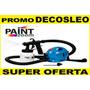 Decosleo Equipo Pistola Pintar 650w Compresor Aire Caliente