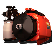 Equipo Pintar Compresor Aire Caliente Adiabatic +6accesorios