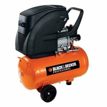 Compresor De Aire 120 Psi 24lts Ct224 Black & Decker 2hp