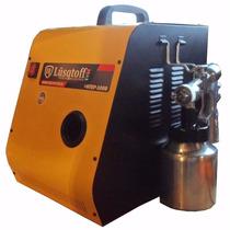Equipo De Pintar Maquina Pintura Compresor 1200watts Hvlp