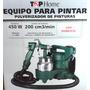Maquina Equipo Para Pintar Compresor Pintura Rec Metalico