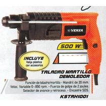 Taladro Martillo Demoledor Versa 500 Wats 20mm Kstrh1001 #