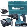 Makita Rotomartillo Inalámbrico Bhr242rfe 18v 2 Baterías !!