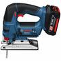 Sierra Caladora Bosch Gst 18 V-li Con 2 Bateria Y Cargador