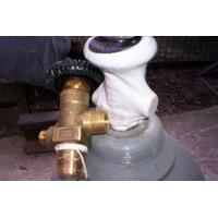 Valvulas Para Tubos De Gas Carbonico, Oxigeno N2 Nuevas $220
