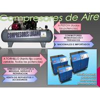 Compresores De Aire A Piston Y A Tornillo