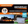 Generador Eléctrico A Gas Generac 13kva Instalado!