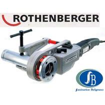 Roscadora Para Caño De Gas Portatil De 1/2 A 2 Rothenberger