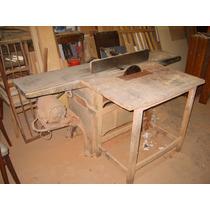 Maquinas De Carpinteria, Garlopa Y Sierra Circular Con Muñec