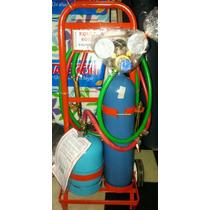 Equipo Oxi-gas Para Soldadura Caño De Cobre Refrigeración
