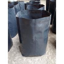 Bolsas Macetas De Nylon Para Plantas (100 Unid. De 10 L C/u)