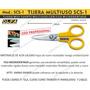 Tijeras Olfa Scs-1 La Mejor Micro Dentada Corta Tela Cuero