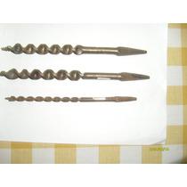 4610/19/22-lote De 3 Mechas Para Carpinteria Nuevas S/uso