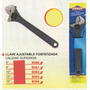 Llave Ajustable Fosfatizada 15 Pulgadas Power B504#