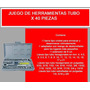 Combo Caja De Tubosx40 + Llaves Fijas X11 !!!