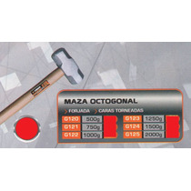 Maza Octogonal Forjada 1000g Versa G122#