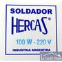 Soldador Hercas 100w 220v Para Vitreaux